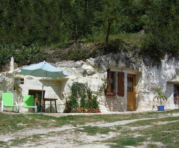 Le Petit Troglo - Meublé de tourisme à Bourré proche de Montrichard - Vacances insolites en Vallée du Cher ©Petit Troglo