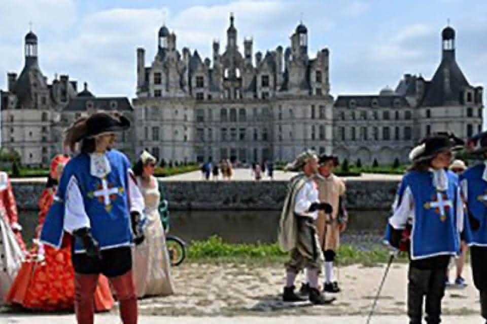 Route Européenne d'Artagnan en Val de Loire - A la cour de Louis XIV au château de Chambord ©Divergence Images