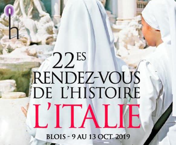 Les Rendez-vous de l'Histoire à Blois - Idée de sortie en octobre en Loir-et-Cher