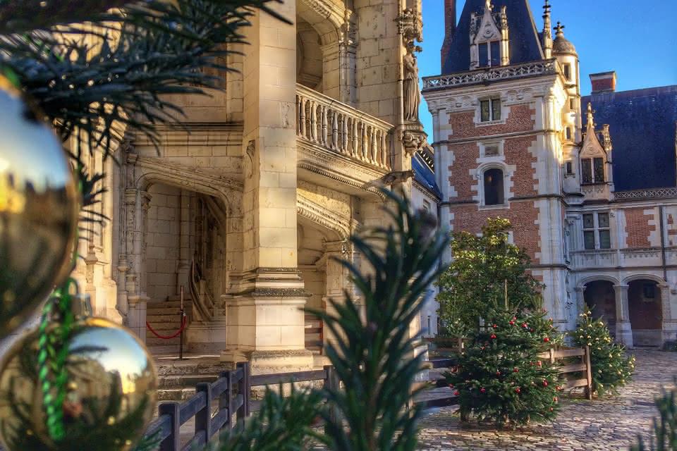 Noël au château royal de Blois - Vacances de Noël aux châteaux et au zoo en Loir-et-Cher Val de Loire ©Château royal de Blois
