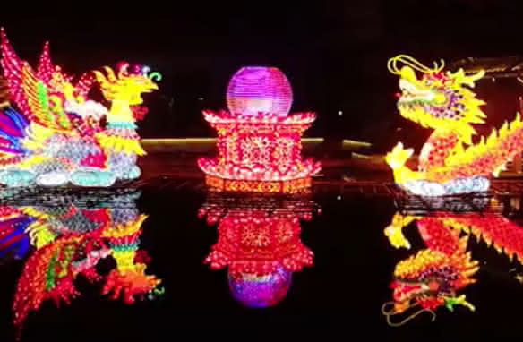 Festival des lumières - Noël au château de Selles-sur-Cher - Vacances en famille en Loir-et-Cher Val de Loire ©Château de Selles-sur-Cher