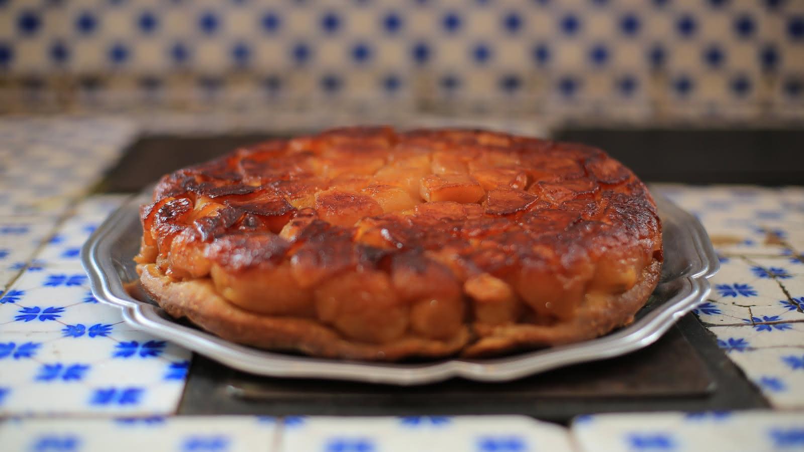 La Tarte Tatin - Spécialité culinaire de Sologne - Vacances gourmandes en Loir-et-Cher Val de Loire ©Nicolas Derré - Conseil Départemental-41