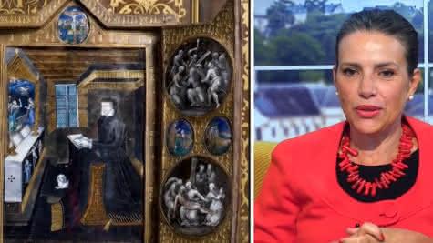 Lygie Rothon TV Tours - Emission TILT - Catherine de Medicis au château royal de Blois