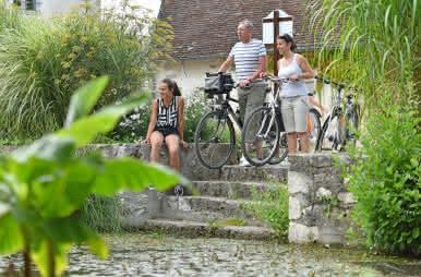 balade en vélo en loir-et-cher à Bracieux