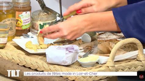 Lygie Rothon TV Tours - Emission TILT - Les produits de fêtes Made in Loir-et-Cher