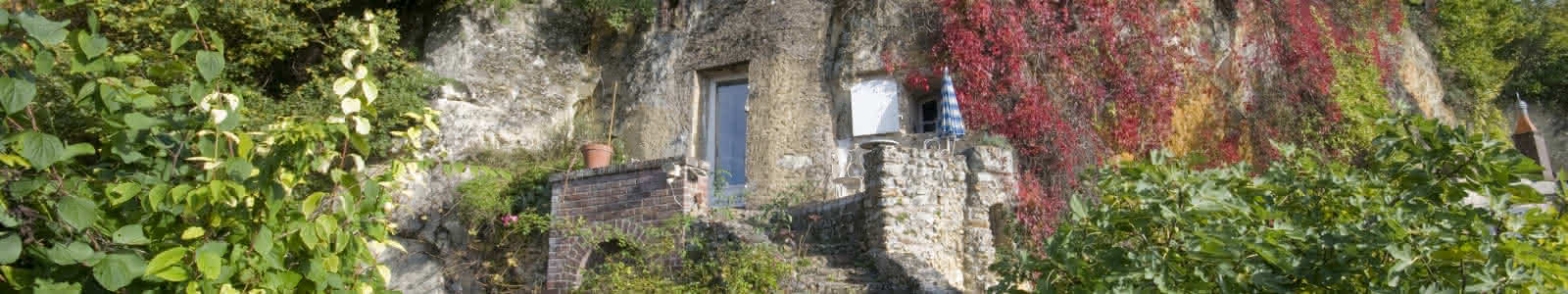Maison Troglo de Trôo - vacances insolites en Loir-et-Cher Val de Loire ©Jean-Ph-Tesson-ADT41