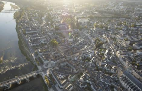 En montgolfière autour de Blois avec Les Compagnons du Vent ©Cécile Marino