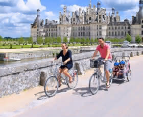 Vélos à Chambord ©Ludovic Letot