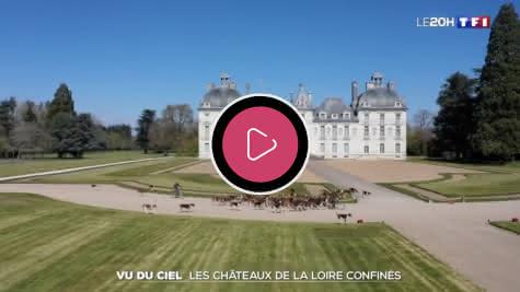 Ça se passe en Loir-et-Cher pendant le confinement - 13h - TF1 - Cheverny - 070420