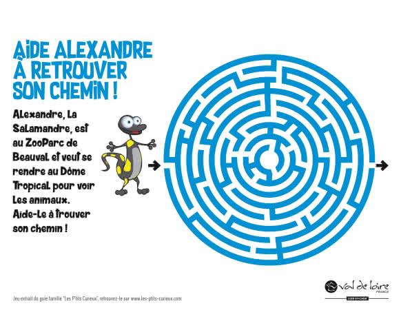 Jeu Petits Curieux - Labyrinthe
