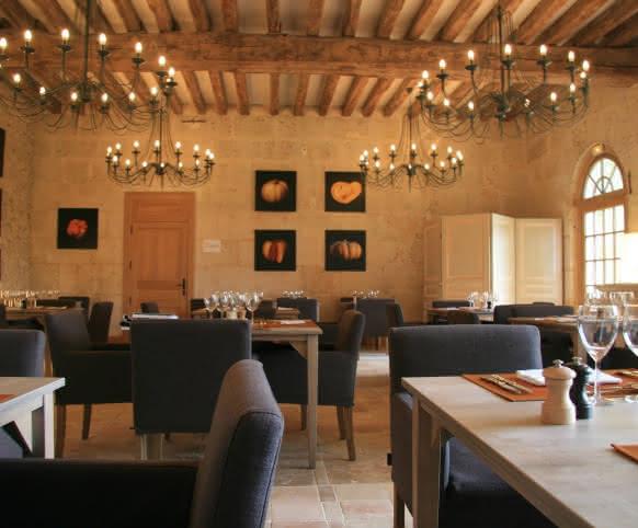 Restaurant du jardin du Plessis Sasnières ©Plessis Sasnières