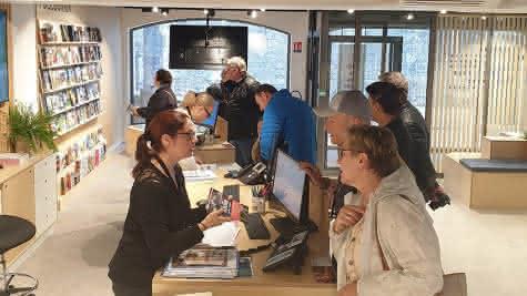 Accueil de l'office de tourisme Blois Chambord - Vacances en Loir-et-Cher Val de Loire