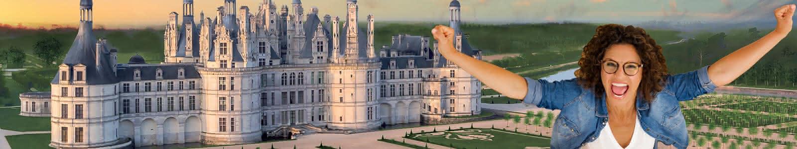 Grand jeu : gagnez des séjours et des entrées touristiques en Loir-et-Cher Val de Loire