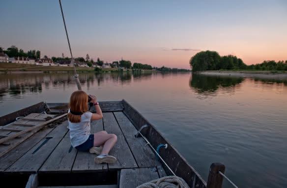 Balade en bateau sur la Loire - Marins-Port Chambord-St-Dye©Laurent-Alvarez-ADT41