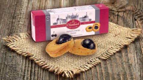 Biscuiterie de Chambord - Petits fours cerise - Cadeaux de Noël made in Val de Loire Loir-et-Cher