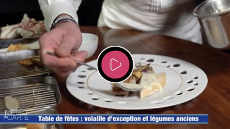 France 3 - Météo à la Carte - Table de fêtes et légumes anciens d'exception en Loir-et-Cher Val de Loire