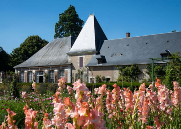 Jardin potager et bouquetier du château de Cheverny en Val de Loire - Loir-et-Cher ©StudioMir-ADT41