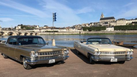 Cadillac Expérience - Balades vintage sur les routes du Loir-et-Cher en Val de Loire ©Cadillac Expérience