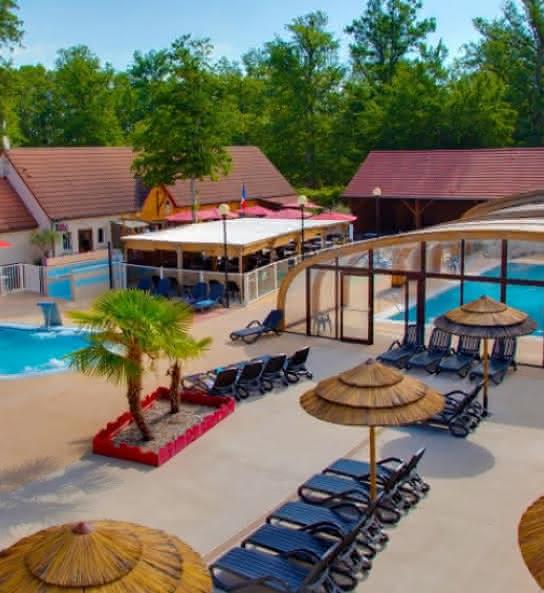 La Grande Tortue - Camping avec piscine en Val de Loire - Loir-et-Cher
