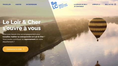 BeLC - Site web