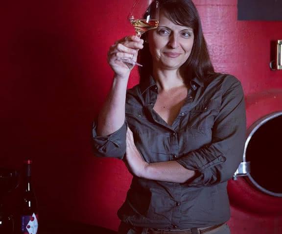 Isabelle Pangault - L'Affût - Vigneronne à Sassay ©ViamoFr