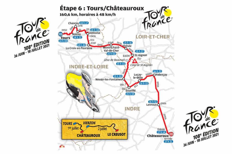 Tour de France 2021 ©La Nouvelle République