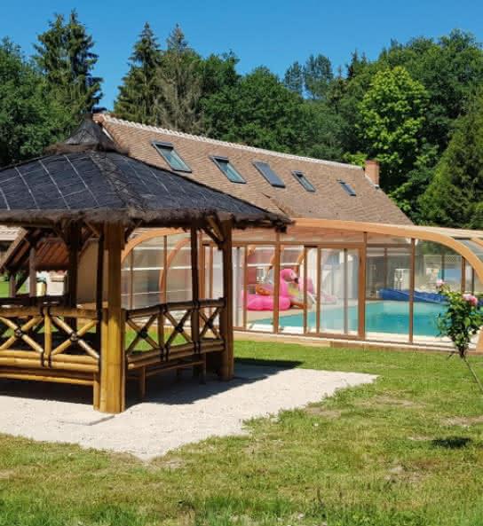Au petit Bonheur - Gîte avec piscine en Val de Loire Sologne
