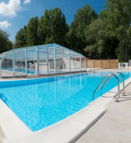 Camping Sites & Paysages Les Saules - Camping avec piscine en Val de Loire - Loir-et-Cher