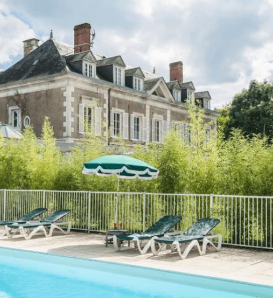 Château de Valaudran - Hôtel avec piscine en Val de Loire Sologne