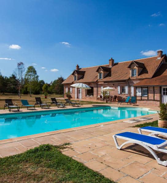 La Bergerie en Sologne - Gîte avec piscine en Val de Loire Loir-et-cher