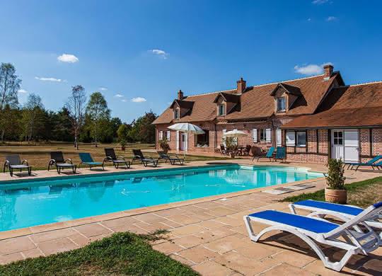 La Bergerie en Sologne - Gîte avec piscine en Val de Loire Sologne