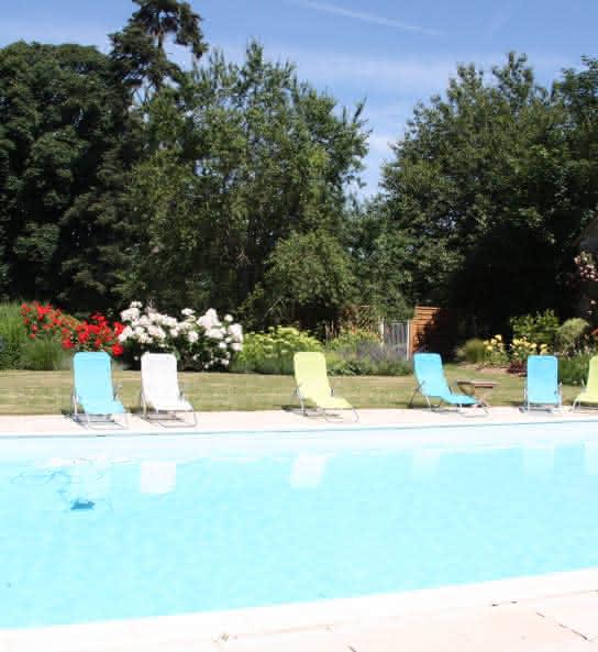 La Ferme de Gorgeat - Chambre d'hôtes avec piscine en Val de Loire - Loir-et-cher