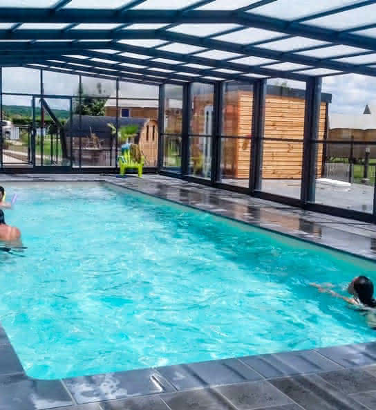 Les Lodges de Blois Chambord - Camping avec piscine en Val de Loire - Loir-et-Cher