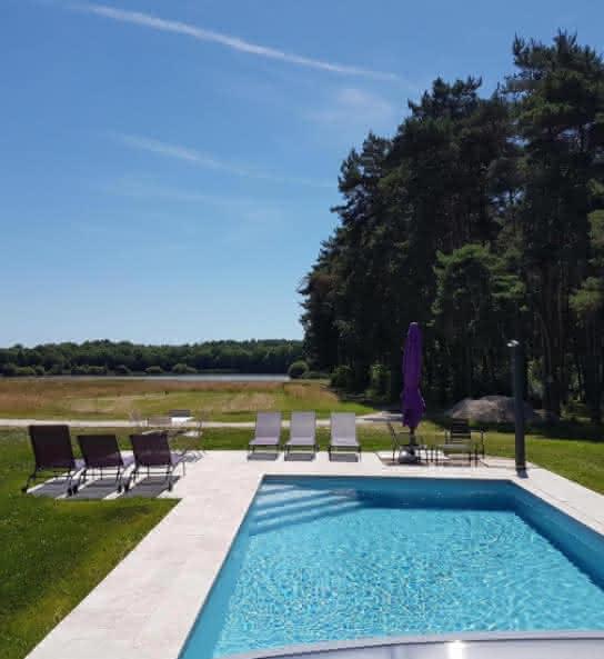 Les Lodges de la Sapinière - Gîte avec piscine en Val de Loire Sologne