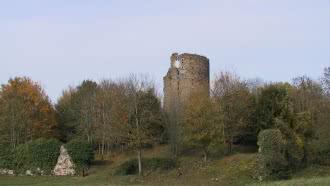 Château féodal de Fréteval