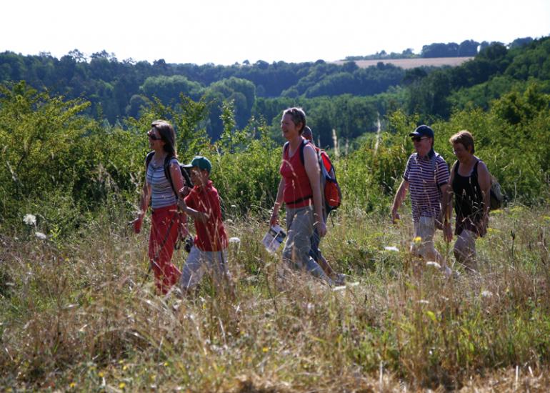 Randonnée en Vallée du Loir