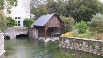 Visite du village de Suèvres