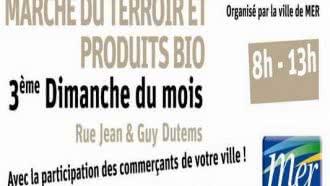 Marché du terroir et des produits bio