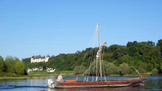 Découverte de la Loire en bateau traditionnel – Au départ d'Amboise et de Chaumont-sur-Loire