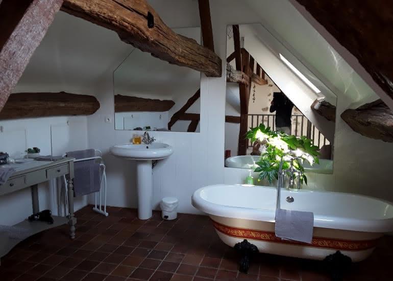 Salle de bain de La Métairie