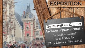1519 – 2019,  cinq siècles d'architecture en Loir-et-Cher