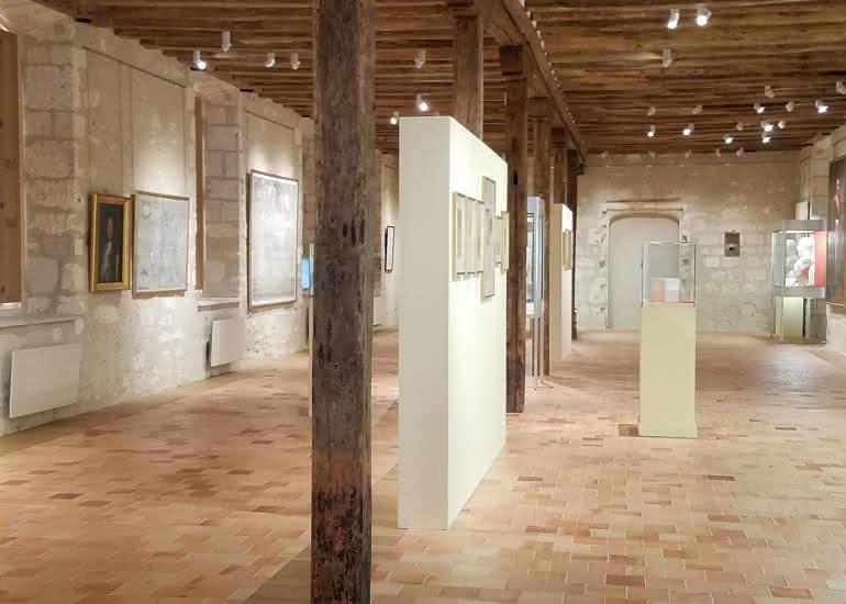 Salle d'expositions temporaires / 1er étage