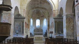 Circuit des églises à fresques de la vallée du Loir