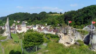 Visite du village de Lavardin