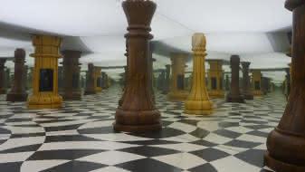 Illusion d'optique à la Maison de la Magie de Blois - Vacances en Val de Loire