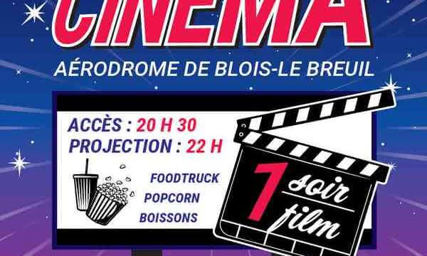 Drive-In à l'Aérodrome de Blois-Le Breuil
