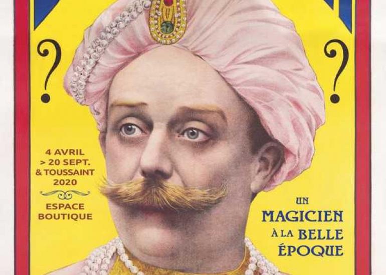 affiche-exposition-dicksonn-maison-de-la-magie-blois