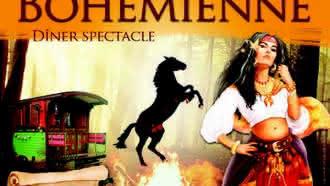 Diner spectacle «Bohémienne» à la Chapelle Montmartin