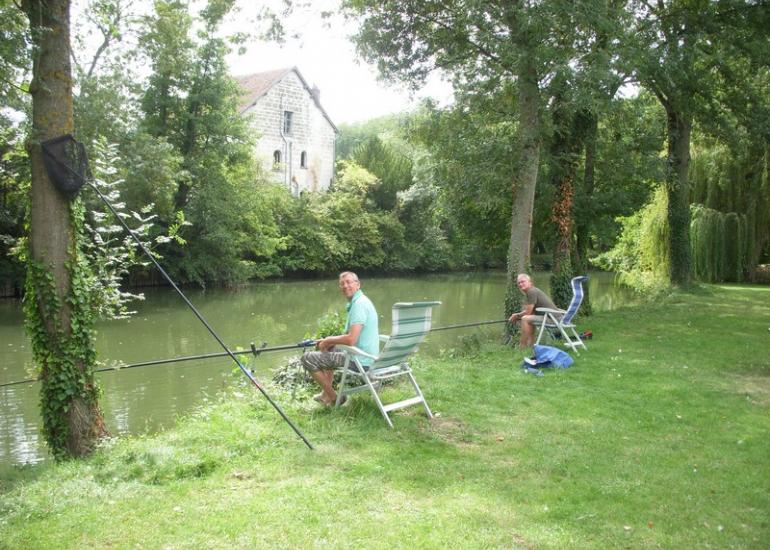Pêche au Camping Au coeur de Vendôme