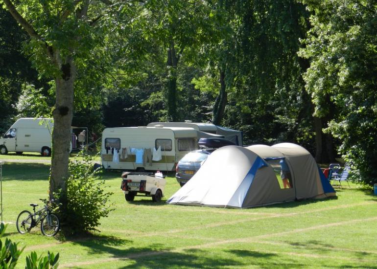 Emplacements - Camping Au Coeur de Vendôme